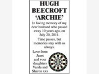 Hugh Beecroft 'Archie' photo