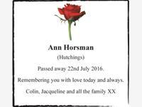 Ann Horsman photo