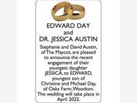 EDWARD DAY and Dr. JESSICA AUSTIN photo
