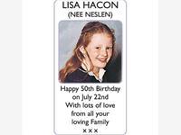 LISA HACON (nee Neslen) photo