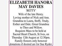 ELIZABETH DAVIES photo