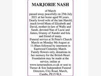 MARJORIE NASH photo
