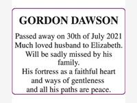 GORDON DAWSON photo