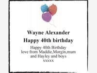 Wayne Alexander  photo
