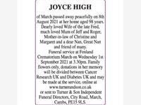 JOYCE HIGH photo