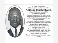 ANTHONY CUMBERPATCH photo