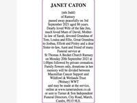 JANET CATON photo