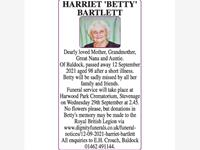 HARRIET BARTLETT photo