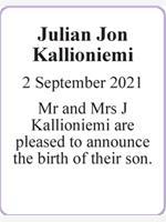 Julian Jon Kallioniemi photo