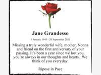 Jane Grandesso photo