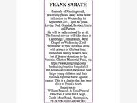 FRANK SARATH photo