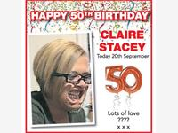 Claire Stacey photo