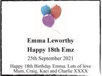 Emma Leworthy photo