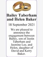 Bailey Taberham and Helen Baker photo