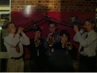 The Howard School band 1991
