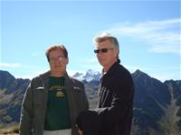 David and Barry in The Pyrenees