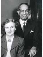 Jainti and Jean Saggar 1954