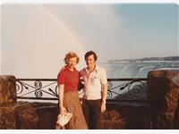 Don and Shirley at niagra falls 1979