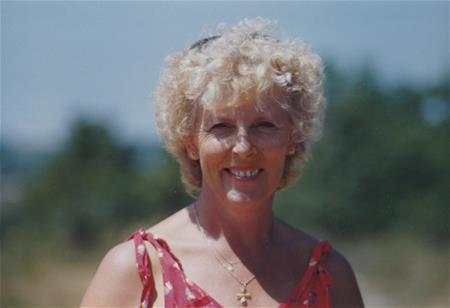Shirley in the Dordogne France 1986