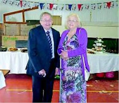 Peter and Gwen Farey