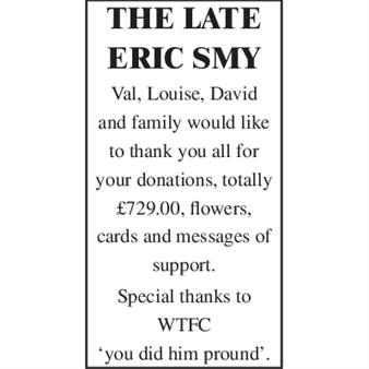 THE LATE ERIC SMY