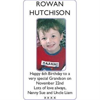 ROWAN HUTCHISON