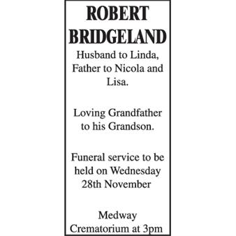 Robert Bridgeland