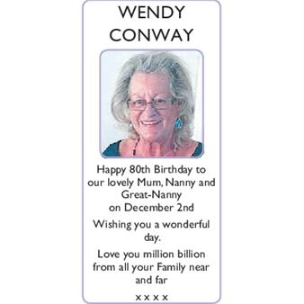 WENDY CONWAY