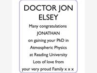 DOCTOR JON ELSEY