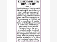EILEEN  (BILLIE) BRADBURY