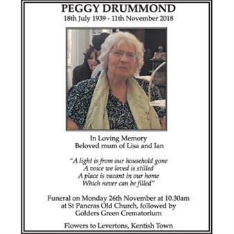 PEGGY DRUMMOND