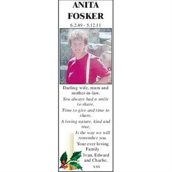 ANITA FOSKER