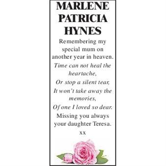 Marlene Patricia Hynes