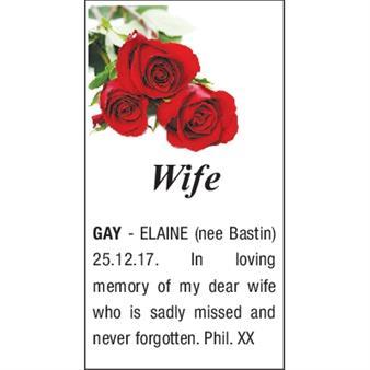 ELAINE GAY