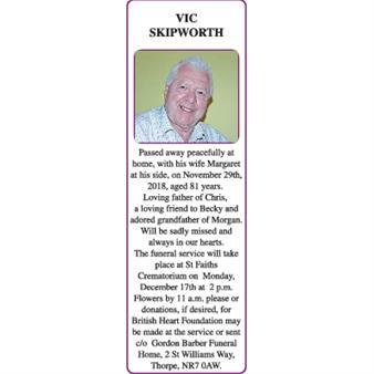 VIC SKIPWORTH
