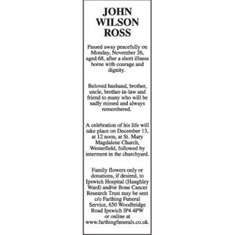 John Wilson Ross