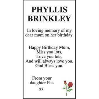 Phyllis Brinkley