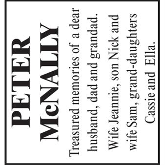 PETER McNALLY