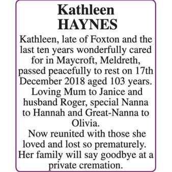 Kathleen Haynes