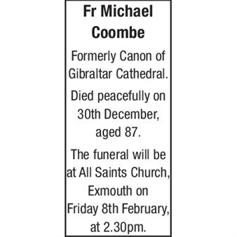 FR MICHAEL COOMBE