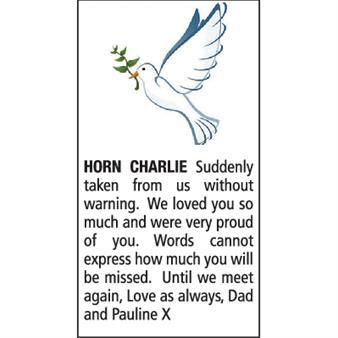 CHARLIE HORN