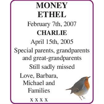 ETHEL MONEY