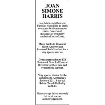 Joan Simone Harris