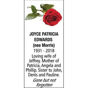 JOYCE PATRICIA EDWARDS