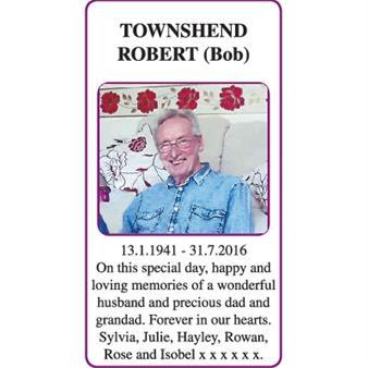 ROBERT (Bob) TOWNSHEND