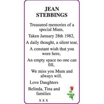 JEAN STEBBINGS