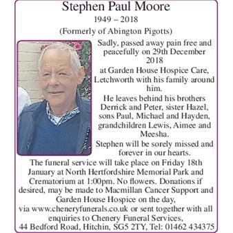 Stephen Paul Moore