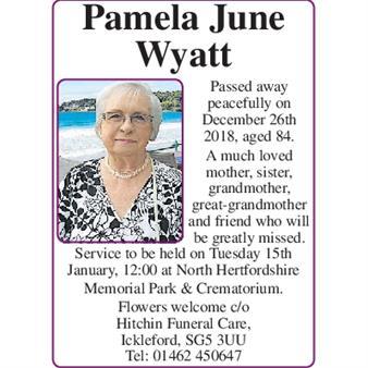 Pamela June Wyatt