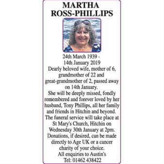 Martha Ross-Phillips