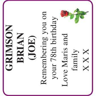 BRIAN GRIMSON
